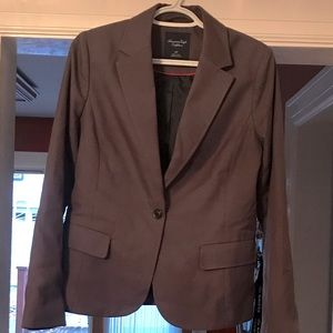 Grey American Eagle Blazer